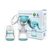Manual Breast Pump - SUMGOTT Hand Breastfeeding Pump Bottle Milk Saver Baby Feeding Machine