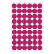 Merssavo Removable Circle Polka Dots Wall Art PVC Sticker Decal Mural Living Room Decor
