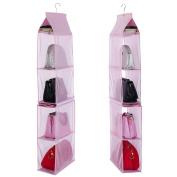 Etbotu Hanging Bag Wardrobe Bedroom Storage Bag,Portfolio Wallet Storage Bag,Separable Non-woven
