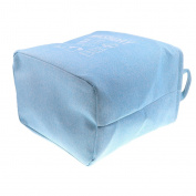 Baoblaze Collapsible Storage Basket Bin Washing Clothes Laundry Hamper Toys Books Sundries Bucket Box Tiday Organiser-Blue