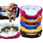 Bazaar Large Size Fleece Soft Warm Dog Mats Bed Pad