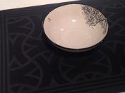 Galzone Tree design soup bowl