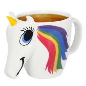 Kicode Ceramic Mug Colour Changing Cup Unisex Gadget Accessories
