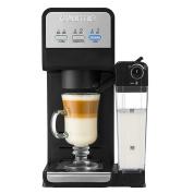 Gourmia GCM 4000 K-Cup Compatible Coffee/Cappuccino/Latte Maker in Black