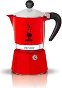 Bialetti 4961 Rainbow Espresso Maker, Red