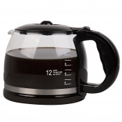 Double Coffee Brewer Carafes- Glass 12-Cup Coffee Pot for the Fill Lines and Comfortable Grip- Specially designed for the CucinaPro Double Coffee Brewer