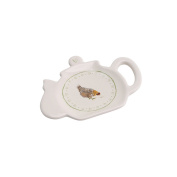 CGB Giftware Holly House Chicken Tea Bag Holder (One Size)