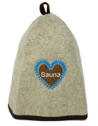High Quality Sauna Hat with Guide eBook Reader (for Men & Women) (hearth) Sauna Hat Felt. Excellent for Sauna Accessories for Men and Women.