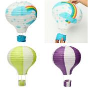 Air balloon airballoon paper lanterns wendding party festival colour decorate