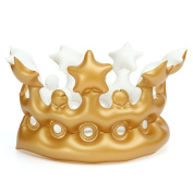 Kindergarten Headwear Toys Party Decoration Inflatable Imperial Crown