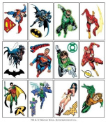 DC Comics Justice League Temporary Tattoos - Set of 15