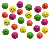 24 Mini Smile Stress Balls - BULK 2 Dozen - Fidget Set for Students, Adults and Children Office Calming Toy