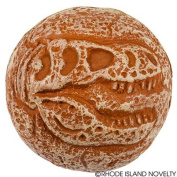 Rhode Island Novelty 6.4cm Dinfo Fossil Foam Ball Toy Activity and Play