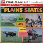 The Plains States - Kansas, Nebraska, N & S Dakota - Classic ViewMaster - 3 Reels Packet - MINT Never Opened