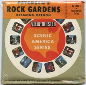 Petersen's Rock Gardens - Redmond, Oregon - Classic ViewMaster - Vintage 3 Reel Set - MINT -Never Opened