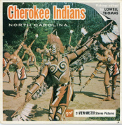 Cherokee Indians- North Carolina - Classic View Master 3 Reel Packet - factory sealed