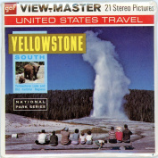Yellowstone National Park- South - Classic ViewMaster - 3Reel Packet -21 3D images - Mint Unopened