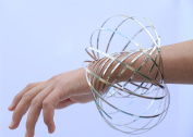 Wild World Flow Ring - Kinetic 3D Shaped Multi Sensory Interactive Spring Toy