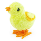 Easter Chicks Toys, Sacow Clockwork Wind Up Hopping Chick Toys Cute Animal Toys Easter Day Gifts