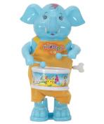 Aaryan Enterprise Funny Windup Elephant Drummer Toy