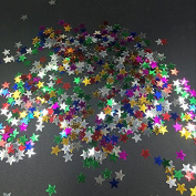 Kicode 2000Pcs Sparkling New Diy Star Moon Loose Sequins Paillettes Sewing Decoration Fashion Wedding Hybrid