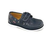 Pablosky Boys' Boat Shoes blue navy