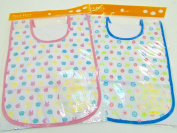 Baby Toddlers Beautiful Print Design Crumb Food Pocket Catcher Bib Bibs Assorted