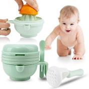 1PC Baby food supplement food grinder manual grinding bowl baby fruit mud machine feeding function hand movement tool multifunctional