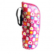 Fostly Baby Insulated Bottle Bag Thermal Feeding Warmer Bottle Bag Bottle Carry Bag Bottle Holder With Hanging Strap Colourful