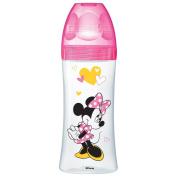 Dodie Bottle Initiation Minnie Pink 330ml 6 + Months 3 Debit Quick