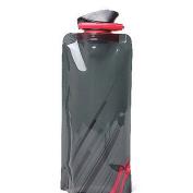 Nuohuilekeji 700ml Reusable Foldable Flexible Water Bottle Pouch Bag Camping Hiking Tool