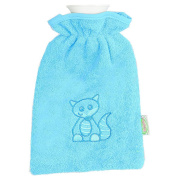 Odenwälder 30020 220 Baby Terry Covered Hot Water Bottle Turquoise