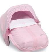 Bimbi Elite Sleeping Bag – Group 0, 51 x 64 cm, Pink/White