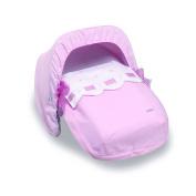 Bimbi Class Sleeping Bag – Group 0, 51 x 64 cm, Pink/White