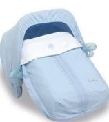 Bimbi Elite Sleeping Bag – Group 0, 51 x 64 cm, White and Blue