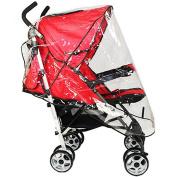ZHOUBA Universal Waterproof Wind Dust Shield Baby Stroller Pushchair Pram Rain Cover