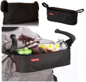 Pushchair Pram Stroller Organiser Insulated Travel Bag Diono Buggy Buddy