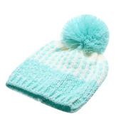 Broadroot Boys and Girls Autumn Winter Hat Baby Cute Warm Wool Fur Ball Hat