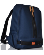 PacaPod Picos Pack Navy Designer Baby Changing Bag - Unisex Luxury Blue Backpack 3 in 1 Organising System