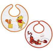 Babycalin Winnie the Pooh/Tigger Bibs Set of 2