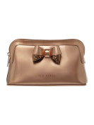 Ted Baker Sillina Rose Gold Make Up Bag with Bow