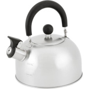 Mainstays 1.8l Stainless Steel Tea Kettle eatures an encapsulated base