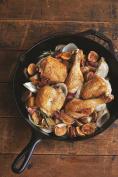 Kitchen Black 34cm Round Lodge Cast Iron Skillet Sear Bake Grill Stir Fry Pan