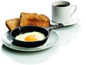 Kitchen Black 20cm Round Lodge Cast Iron Skillet Sear Bake Grill Stir Fry Pan