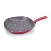 Moneta Riviera Nonstick 29cm Open Grill Pan in Red