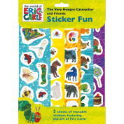 The Very Hungry Caterpillar Sticker Fun Stickers Party Favour Activity Set Kids