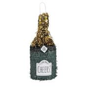 Champagne Bottle-Shaped Piñata