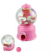 Candy Bank,Classic Vintage Double Bubble Gum Machine Bank Candy Dispenser Gumball Toy By Dacawin
