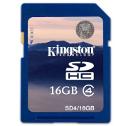 Kingston 16GB SD SDHC Memory Card For Panasonic Lumix DMC-FS35 Digital Camera