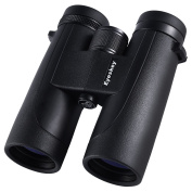 Eyeskey 10x42 waterproof binoculars for adults with high stability, high power binocular with phase correction coated BaK-4 prism, absolutely HD viewing expirence